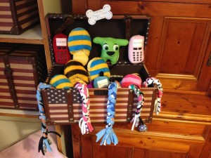 Wags soft toys
